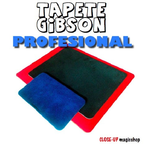 TAPETE NEGRO GIBSON CLOSE-UP (CALIDAD...