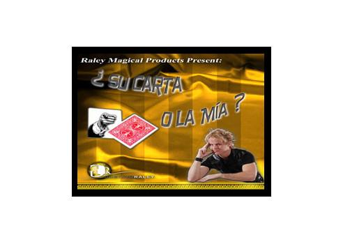 SU CARTA O LA MIA - RALEY