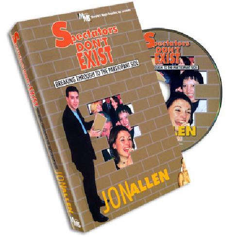 EL ESPECTADOR NO EXISTE DVD - JON ALLEN