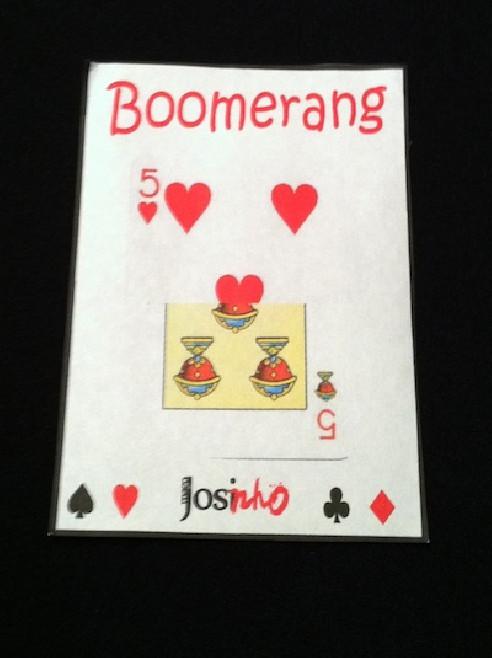 CARTA BOOMERANG POKER / ESPAÑOLA  BY...