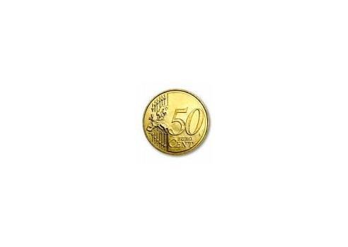 MONEDA EN LA BOTELLA 0,50 €
