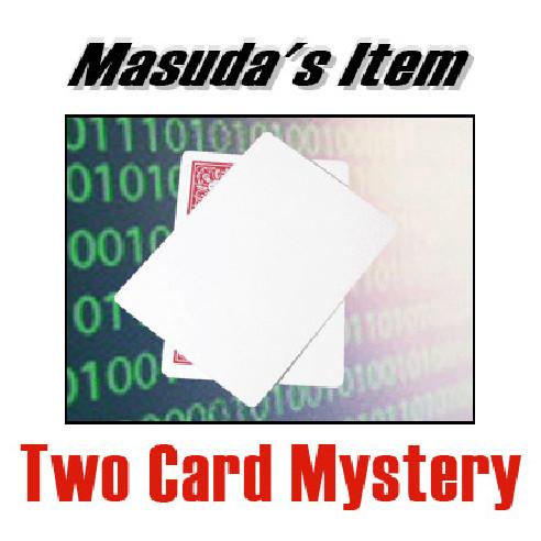 TWO CARD MYSTERY - MASUDA