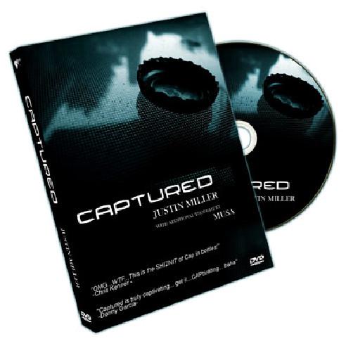 CAPTURED - JUSTIN MILLER DVD