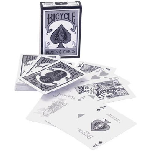 BARAJA BICYCLE BLANCA Y NEGRA