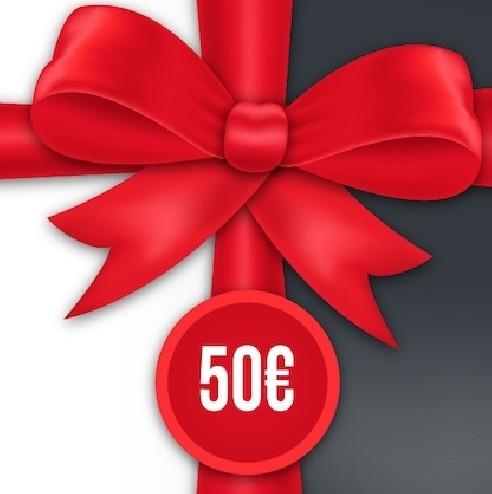 CUPÓN REGALO 50€