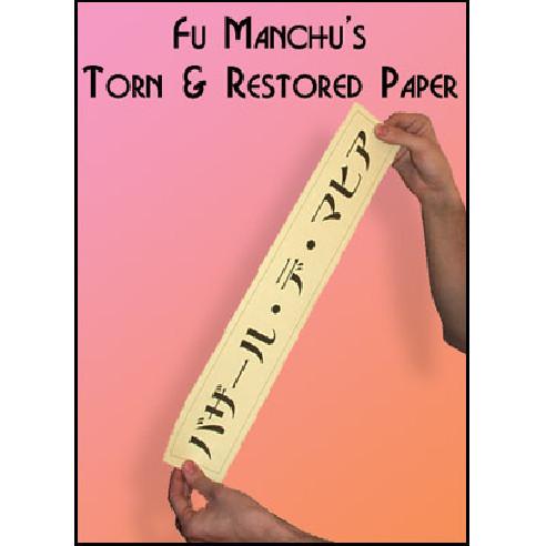 FU MANCHU - PAPEL ROTO Y RECOMPUESTO