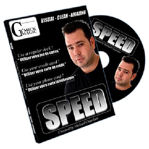 SPEED - DVD + GIMMICKS BICYCLE ROJO...