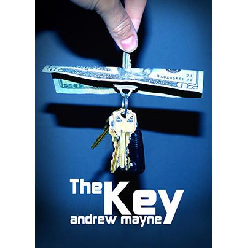 THE KEY (DVD + GIMMICKS) - ANDREW MAYNE