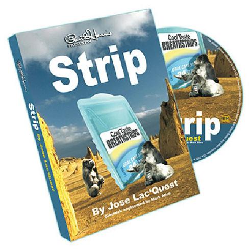 STRIP (DVD + GIMMICK) - PAUL HARRIS