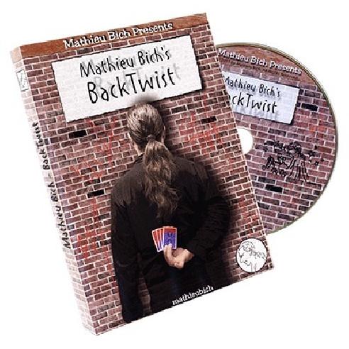 BACK TWIST (DVD + CARTAS) - MATHIEU...