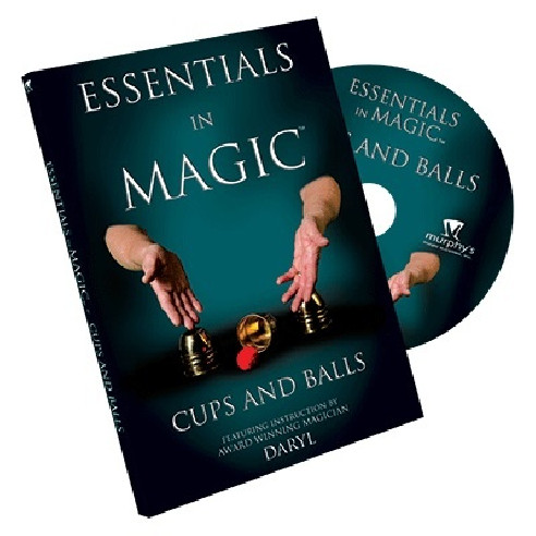 ESSENTIALS CUPS AND BALLS - DVD