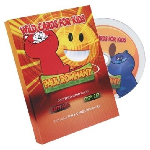 WILD CARD INFANTIL ( GATOS Y CARAS) -...