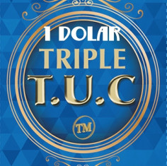 TRIPLE TUC - TAMAÑO 1 DOLAR
